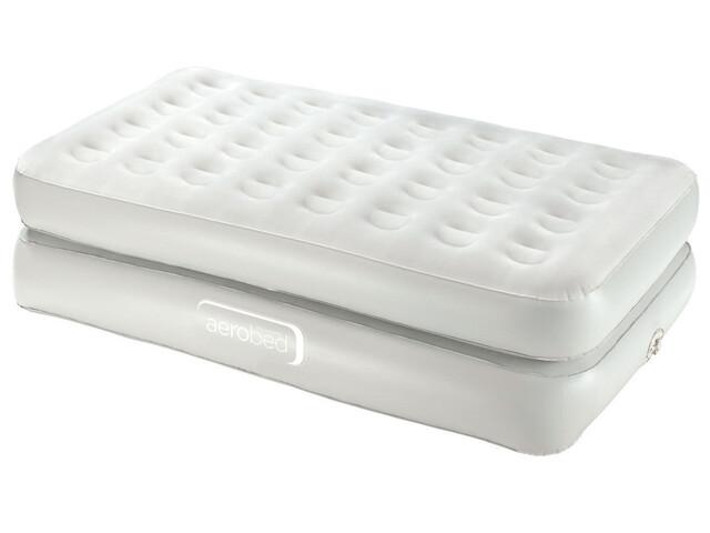 aerobed Premium Collection Łóżka Raised Single biały